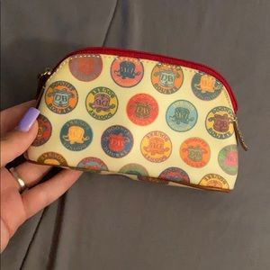 Authentic Dooney Bourke pouch